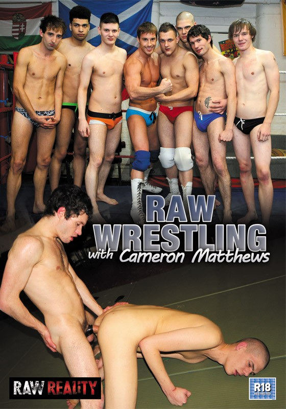 Raw Wrestling with Cameron Matthews DVD - Front