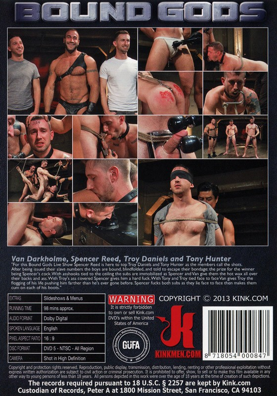 Bound Gods 26 DVD (S) - Back