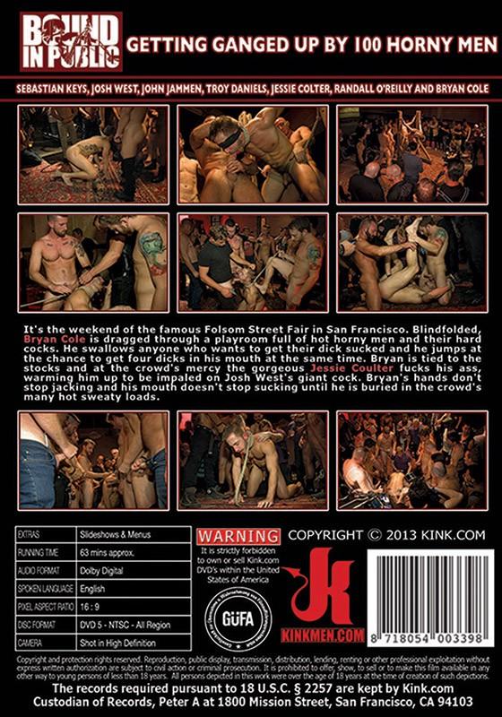 Bound In Public 28 DVD (S) - Back
