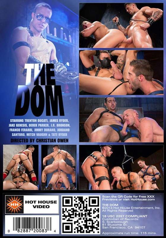 The Dom DVD - Back