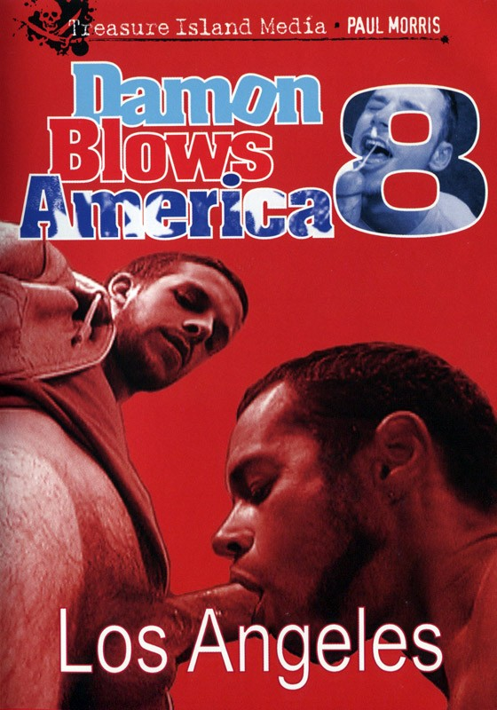 Damon Blows America #8 DVD - Front