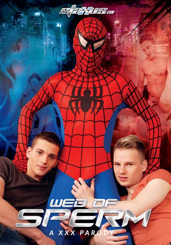 Web Of Sperm DVD - Front