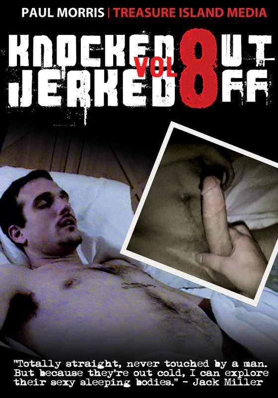 Knocked Out Jerked Off Vol. 8 DVD - Front