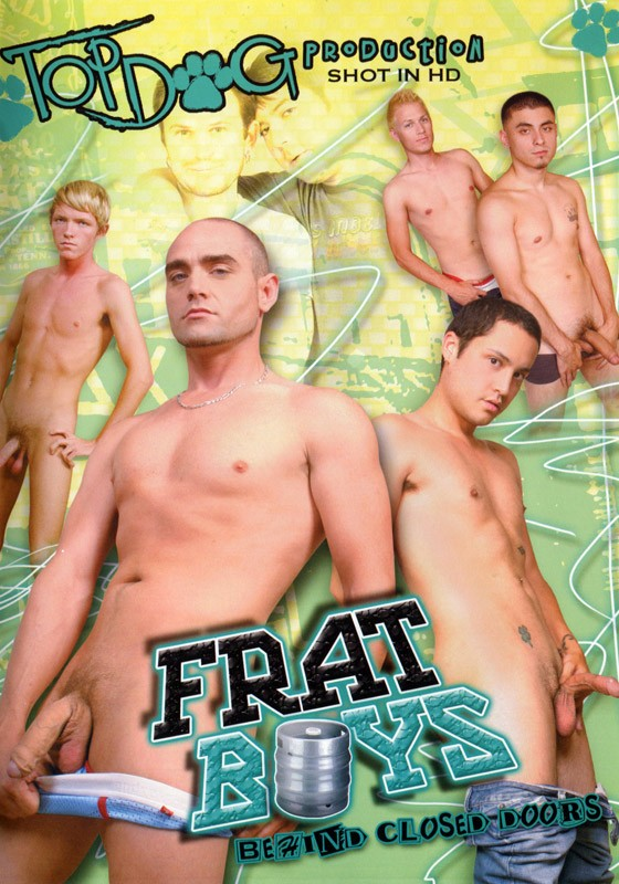 Frat Boys Behind Closed Doors DVD - Front
