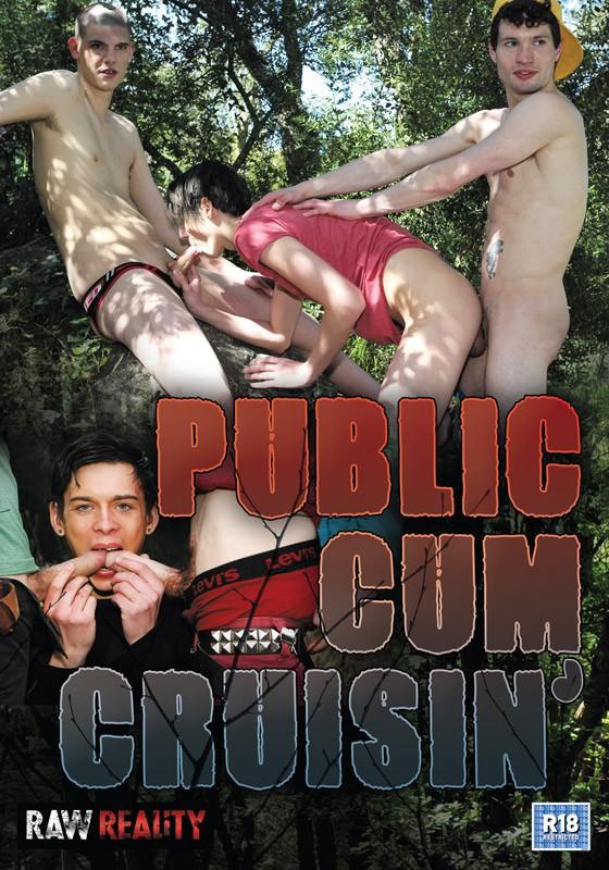 Public Cum Cruising DVD - Front