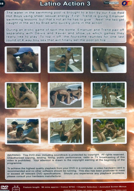 Latino Action 3: Pool of Fire DVD - Back