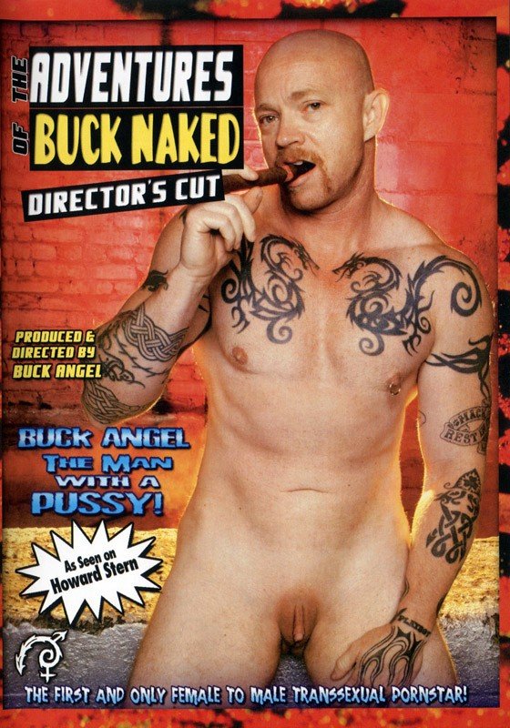 The Adventures of Buck Naked DVD - Front