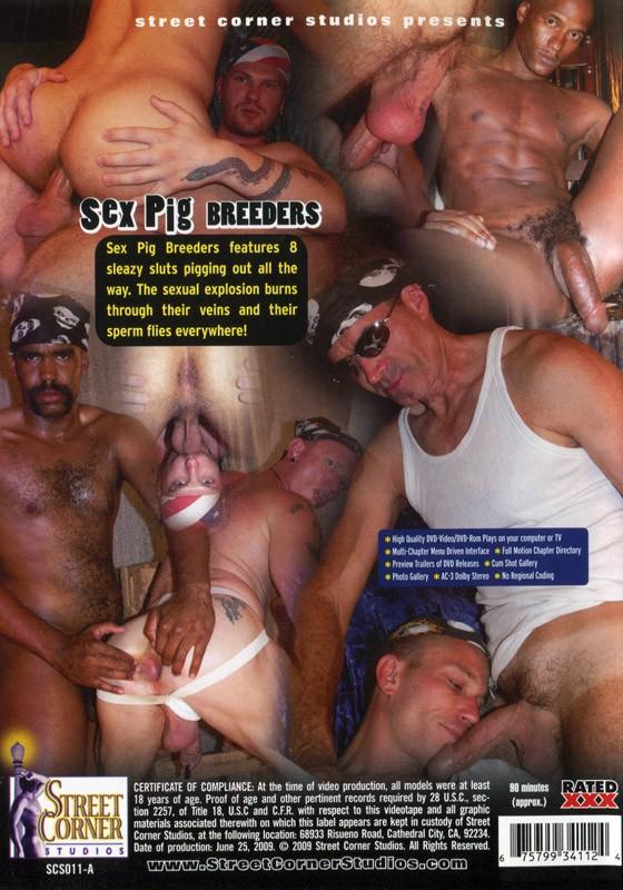 Sex Pig Breeders DVD - Back