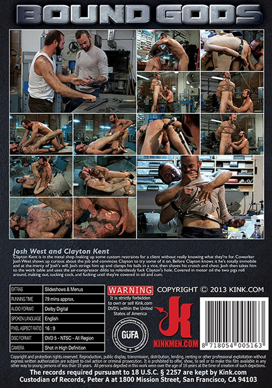 Bound Gods 31 DVD (S) - Back