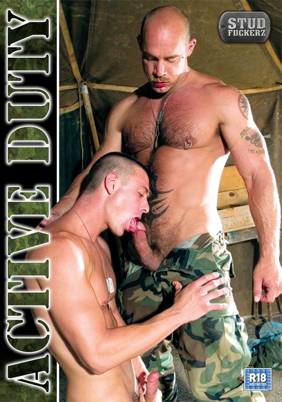 Active Duty (Stud Fuckerz) DVD - Front