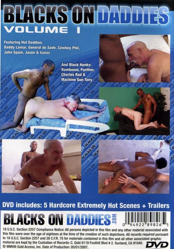Blacks on Daddies Vol. 1 DVD - Back