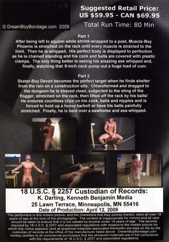 Phoenix & Devon DVD - Back