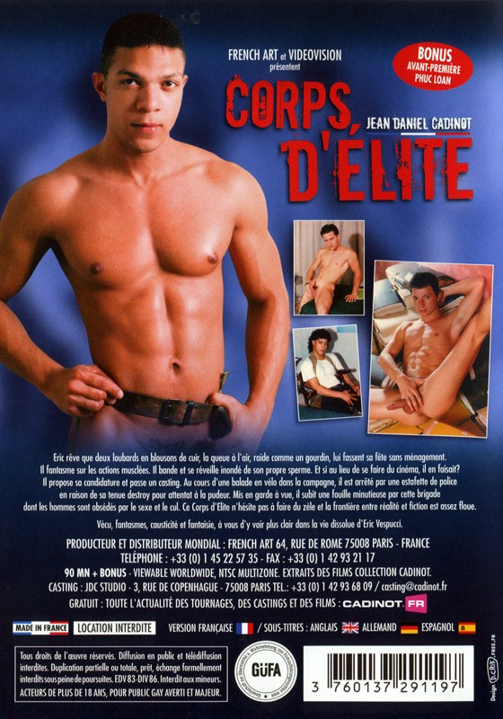 Corps d'Elite DVD - Back
