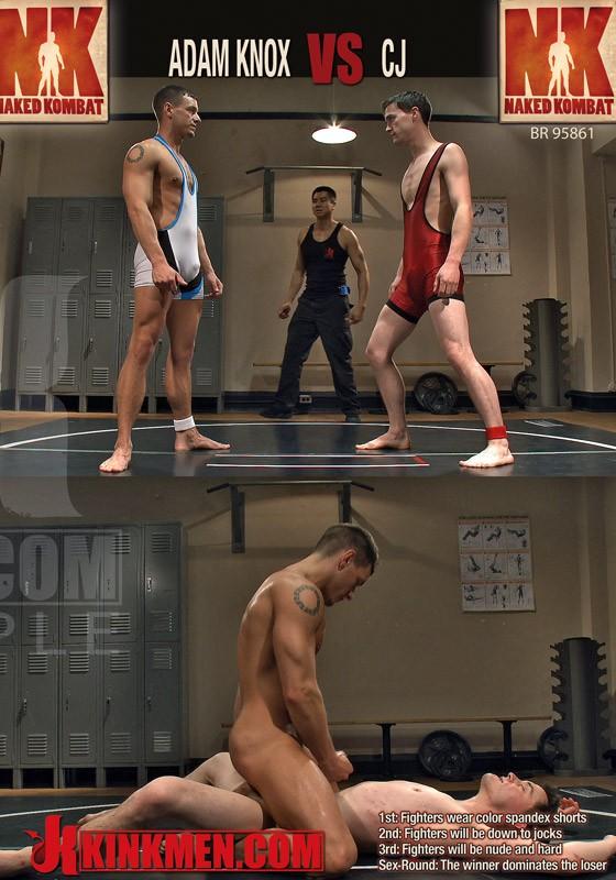Naked Kombat 22 DVD (S) - Front