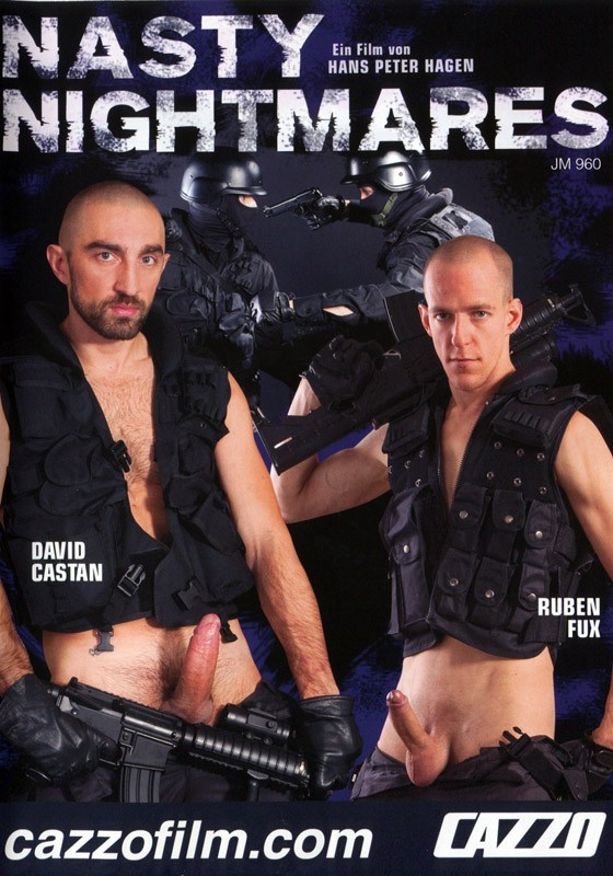 Nasty Nightmares DVD - Front