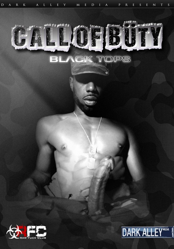 Call of Büty: Black Tops DVD - Front