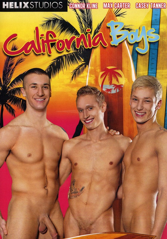 California Boys DVD - Front