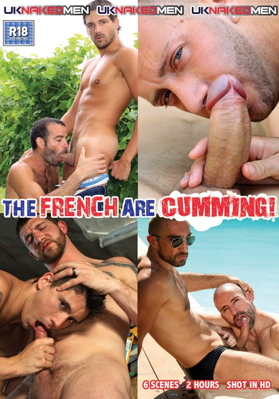The French Are Cumming DVD - Front