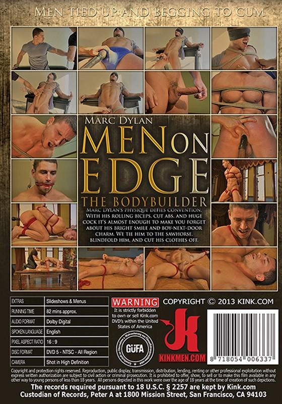 Men On Edge 9 DVD (S) - Back