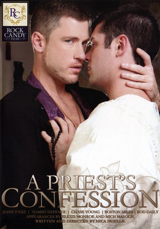 A Priest's Confession DVD - Front