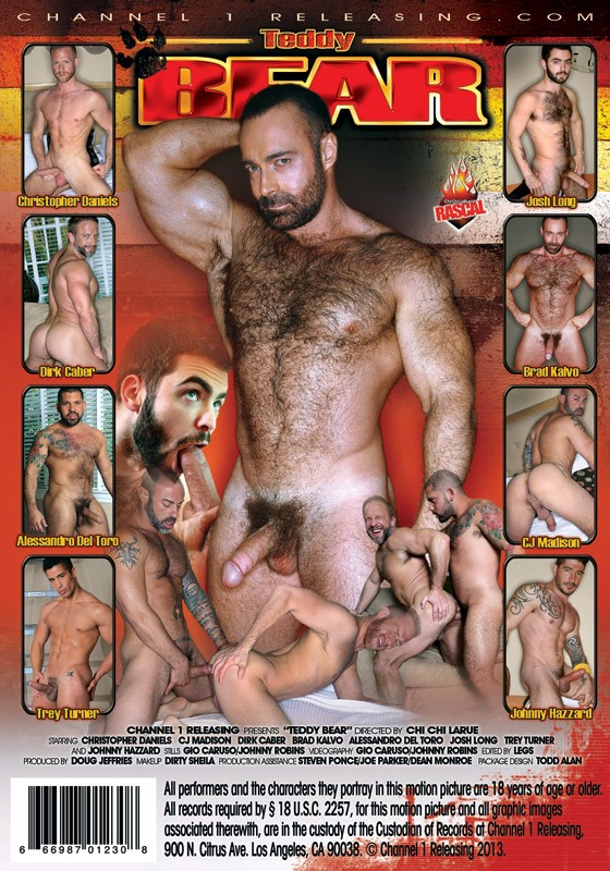 Teddy Bear DVD - Back