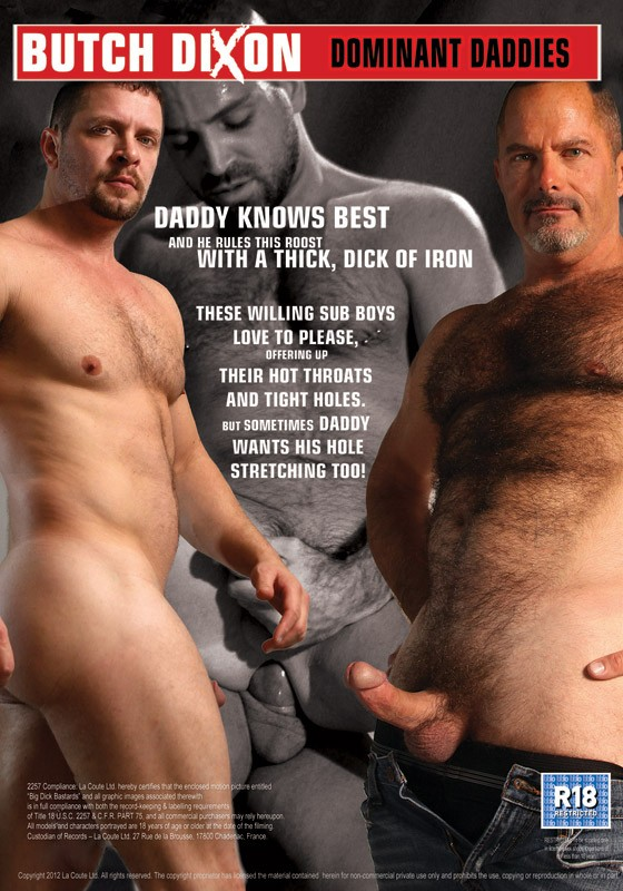 Dominant Daddies DVD - Back