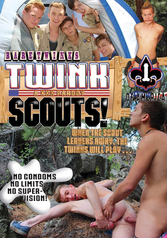 Twink Scouts! DVD - Front