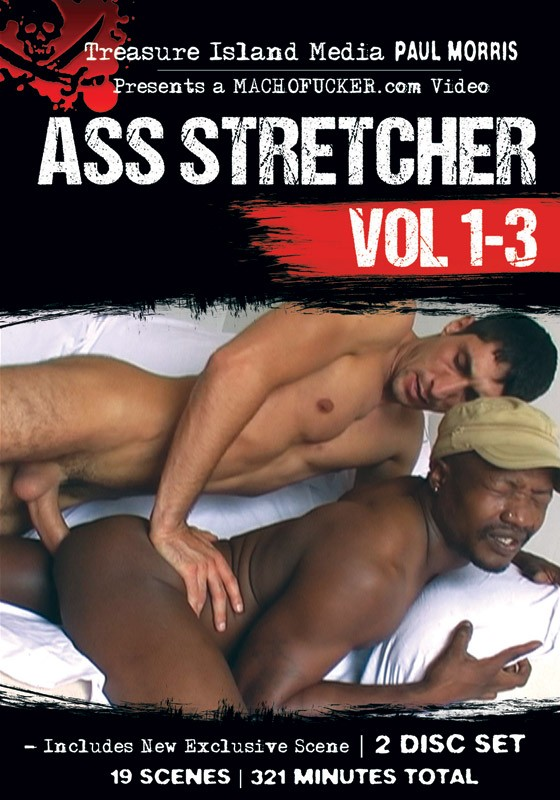 Ass Stretcher Vol. 1-3 DVD - Front