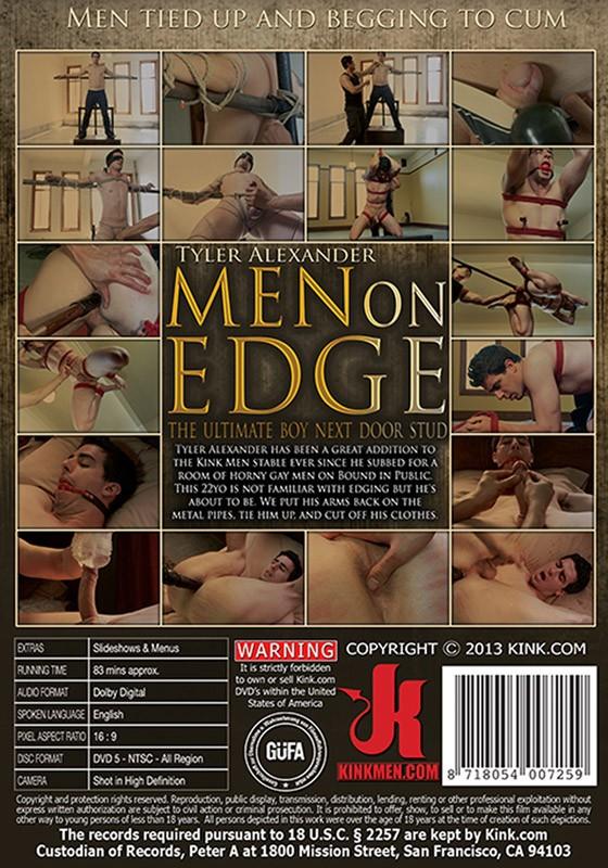 Men On Edge 10 DVD (S) - Back