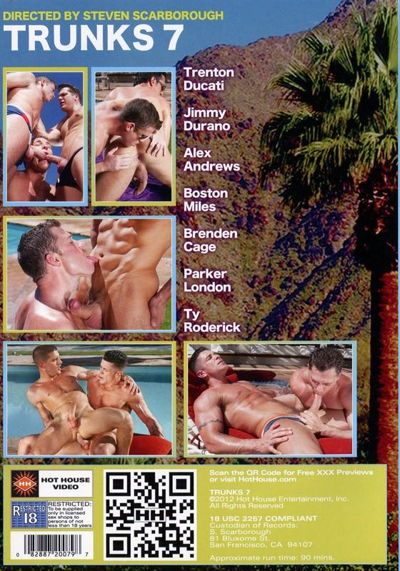 Trunks 7 DVD - Back