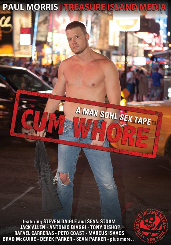 Cum Whore DVD - Front