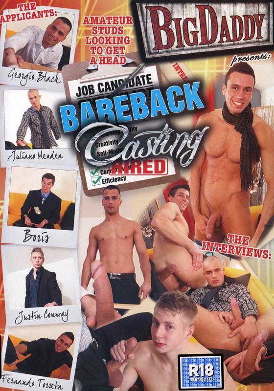 Bareback Casting DVD - Front