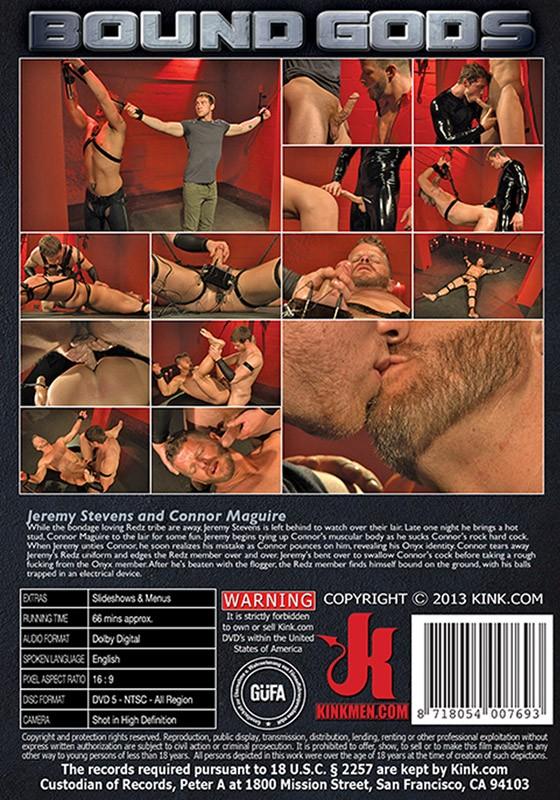 Bound Gods 35 DVD (S) - Back
