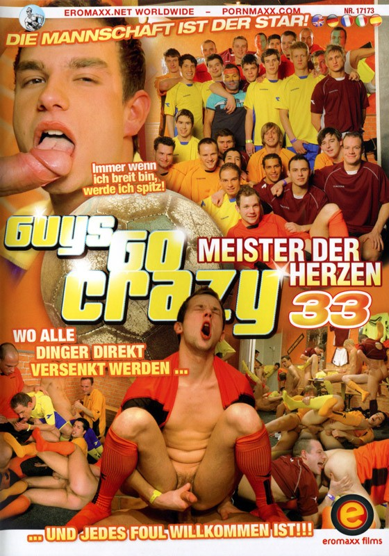 Guys Go Crazy 33: Behind The Locker Room Door DVD - Front