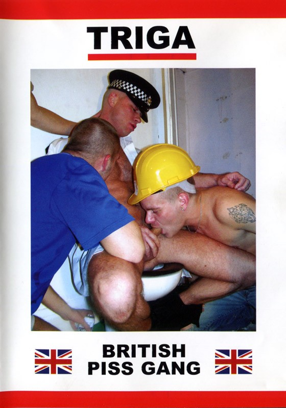 British Piss Gang DVD - Front