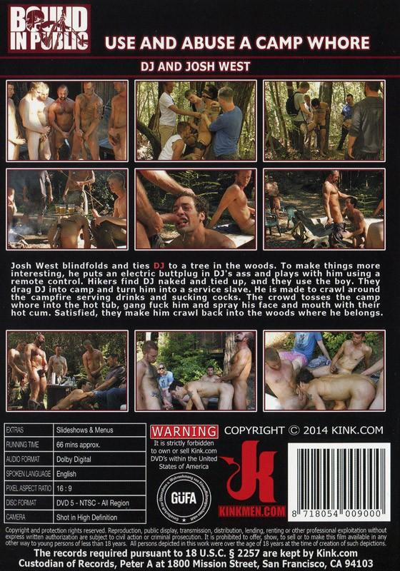Bound In Public 50 DVD (S) - Back