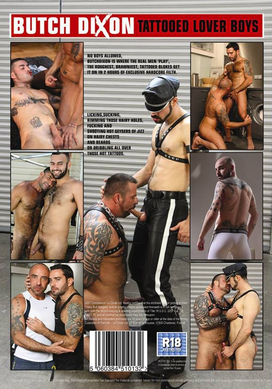 Tattooed Lover Boys DVD - Back
