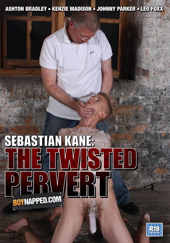 Boynapped 24: Sebastian Kane: The Twisted Pervert DVD - Front