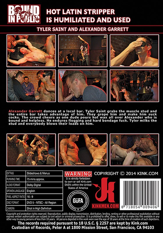 Bound In Public 52 DVD (S) - Back