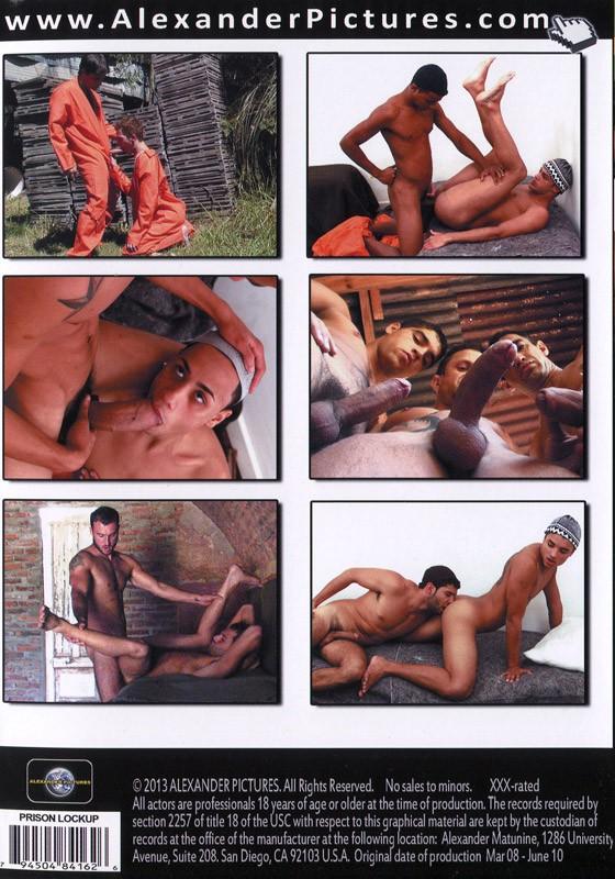 Prison Lockup DVD - Back
