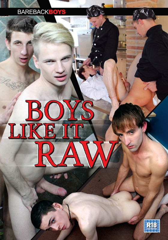 Boys Like It Raw DVD - Front