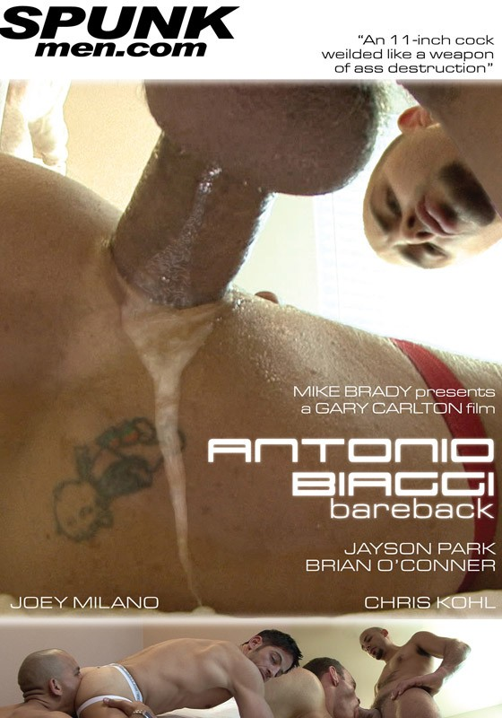 Antonio Biaggi Bareback DVD - Front