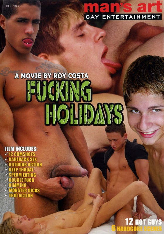 Fucking Holidays 1 DVD - Front