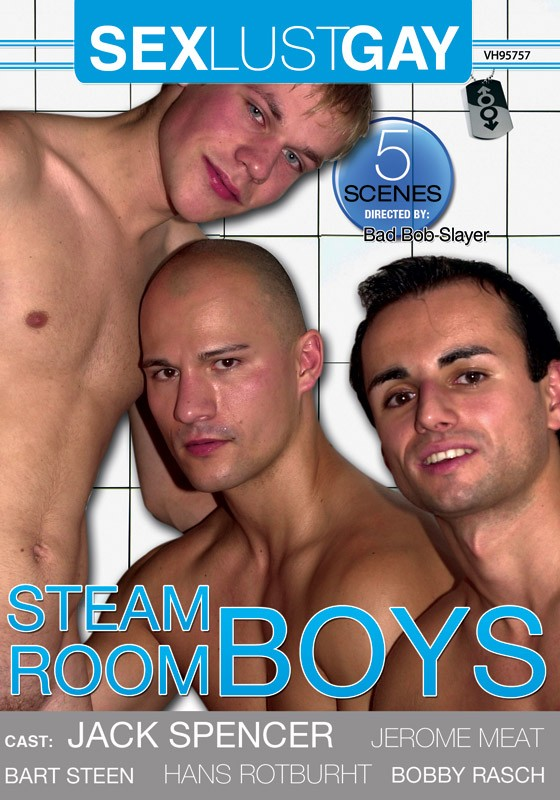 Steam Room Boys DVD - Front