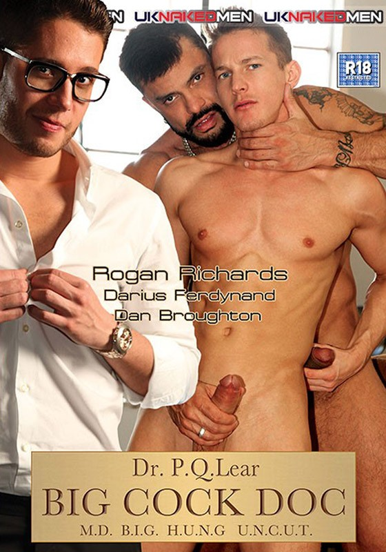 Big Cock Doc DVD - Front