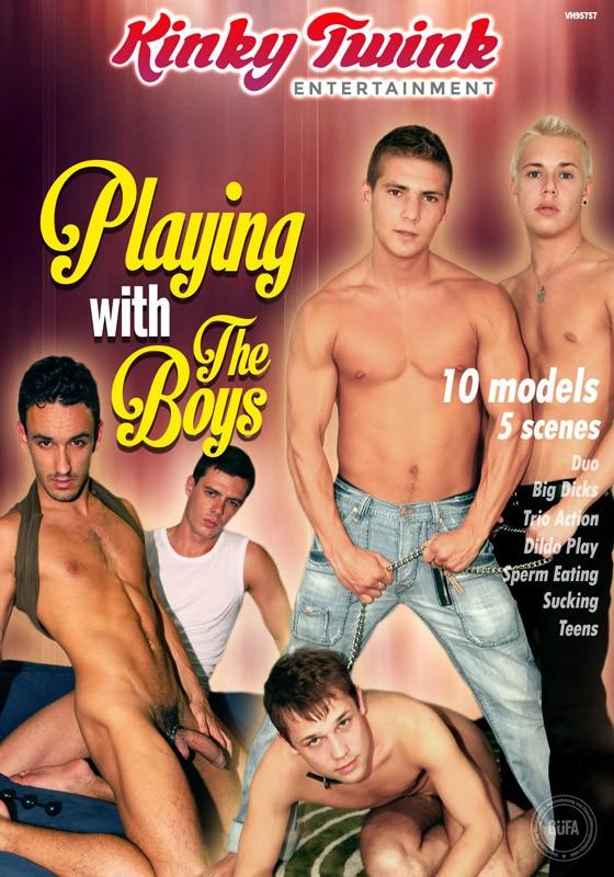 Playing With The Boys (Kinky Twink) DVD - Front