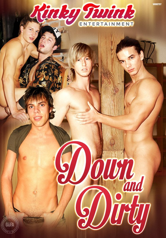 Down And Dirty (Kinky Twink) DVD - Front