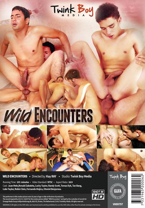 Wild Encounters DVD - Back
