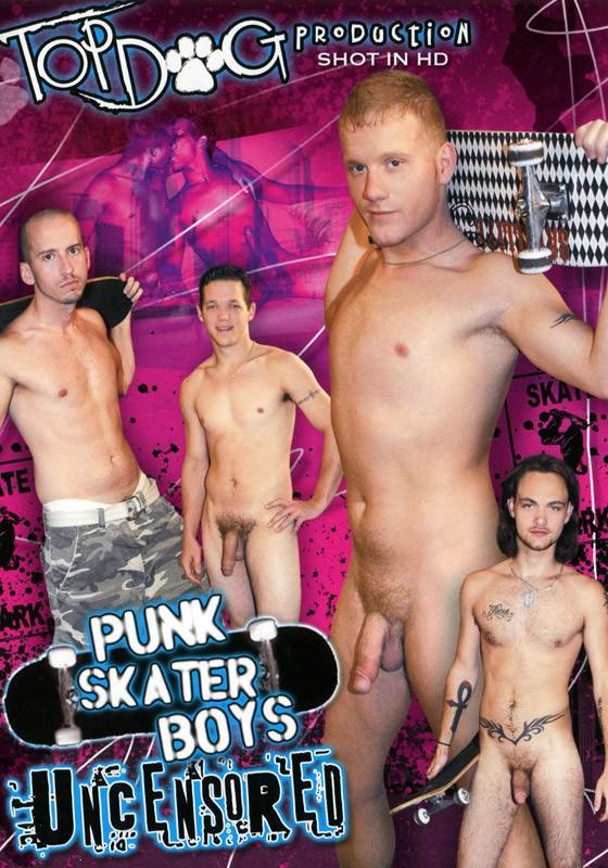 Punk Skater Boys DVD - Front