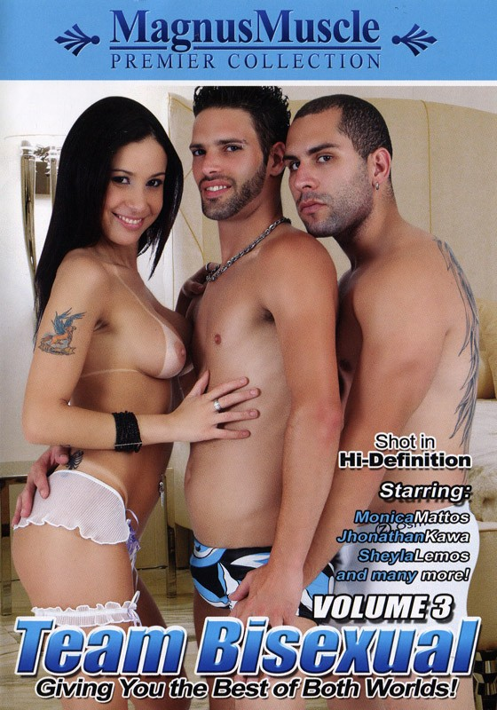 Team Bisexual Volume 3 DVD - Front